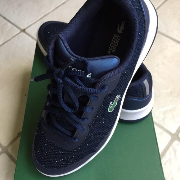 e0af97d9888 Lacoste-Womens-Size-7-Tennis-Shoes-Walking- New